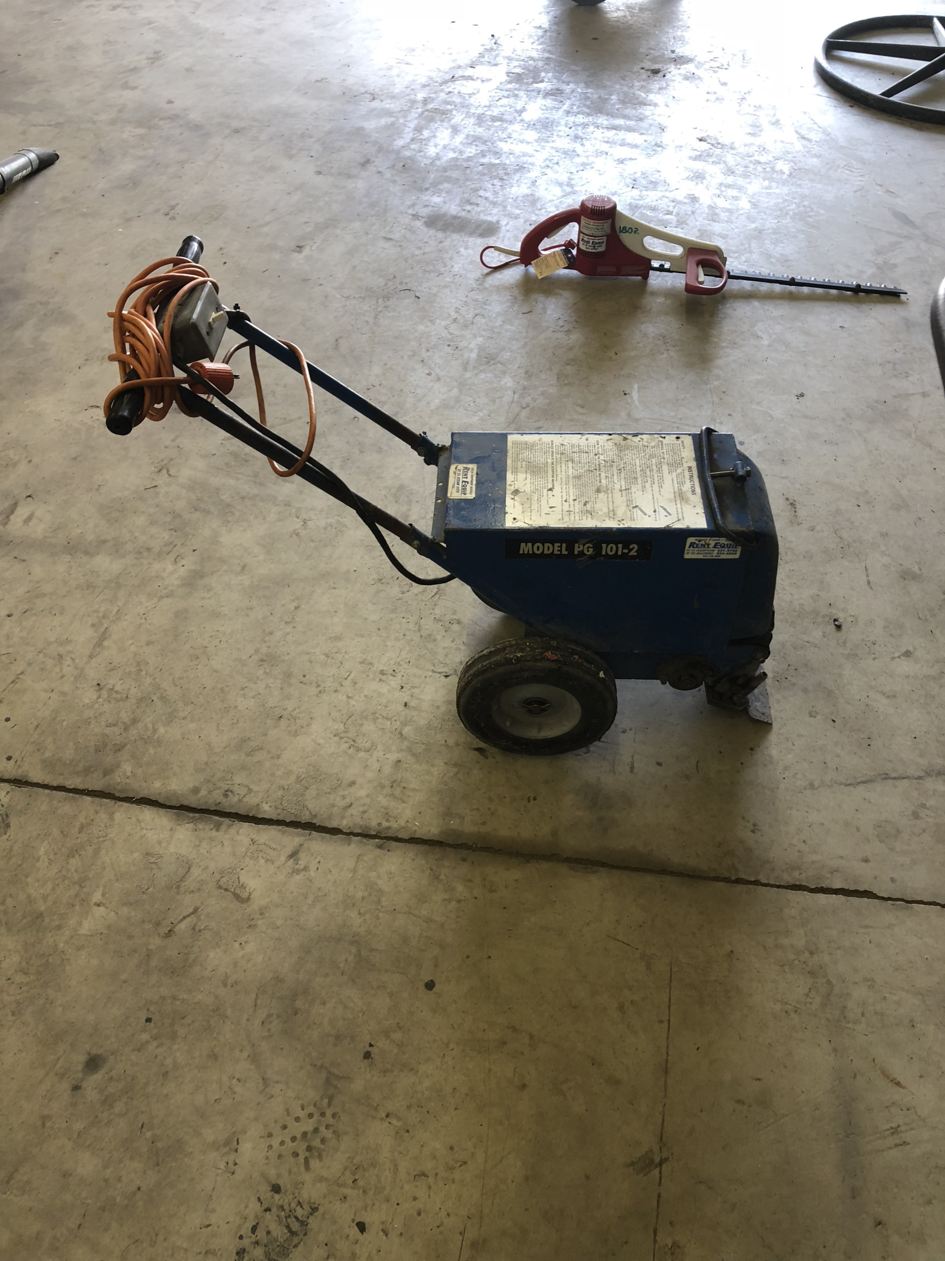Used Floor Stripper Walk Behind